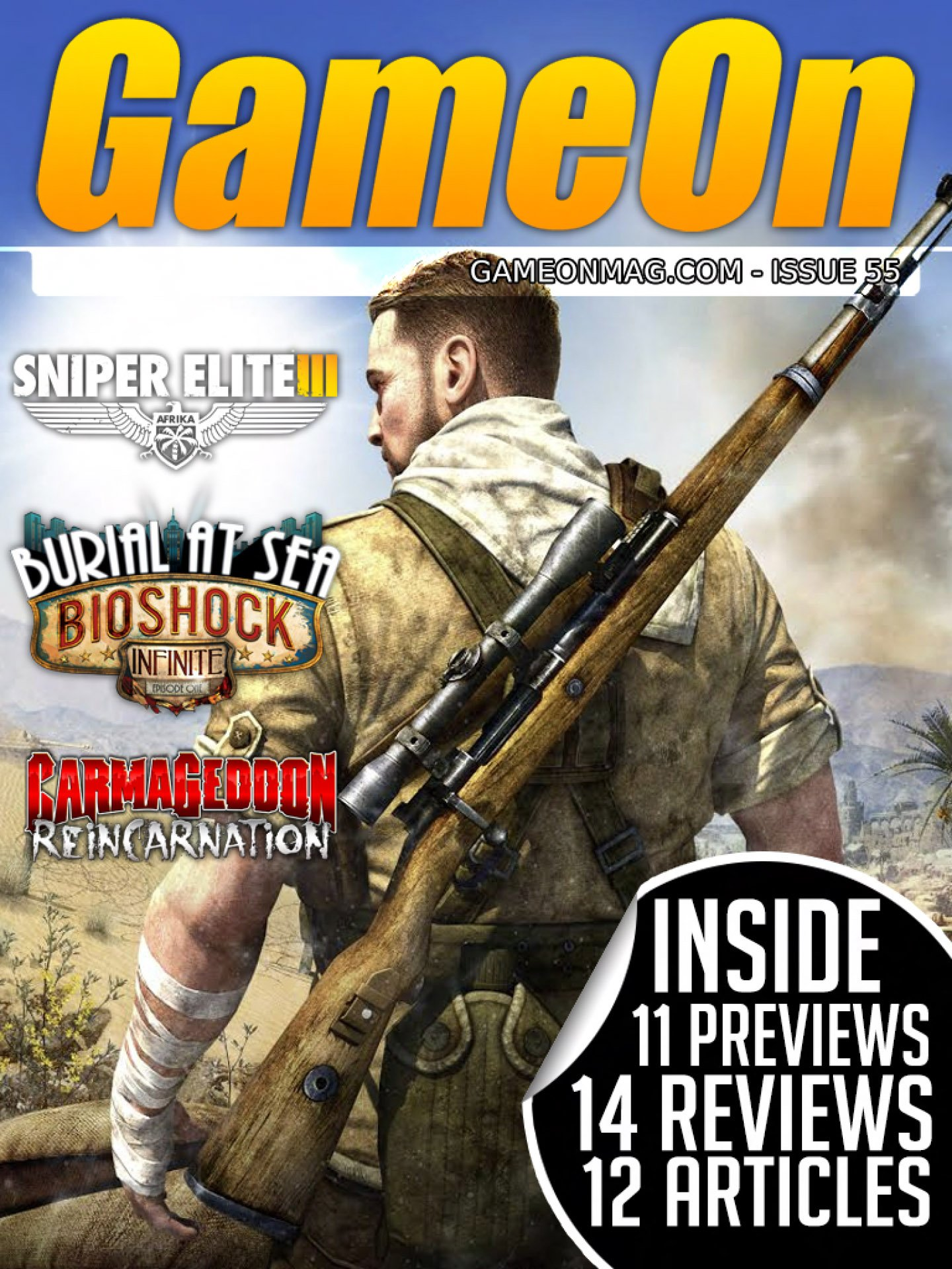 GameOn 055 (May 2014)