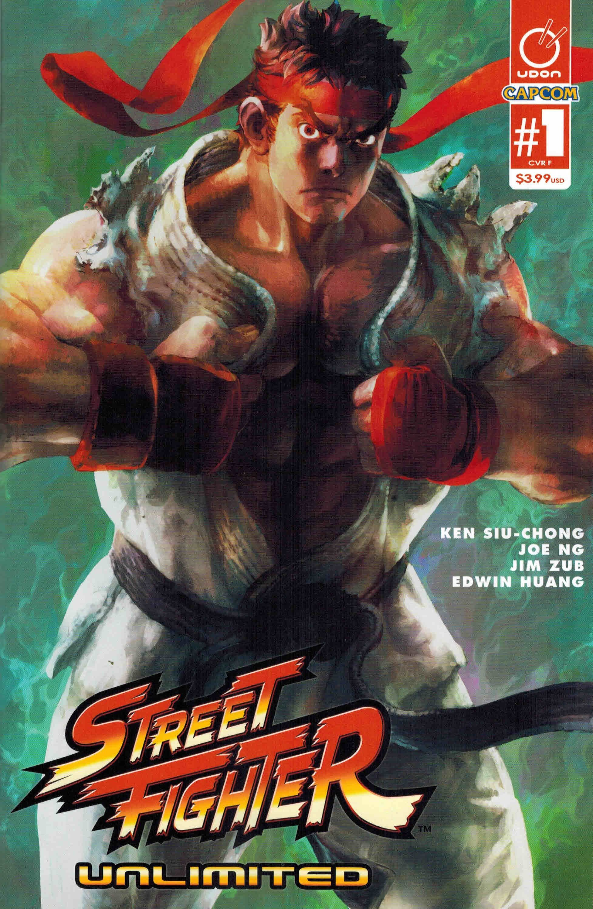 Street Fighter Unlimited 001 (December 2015) (cover F)