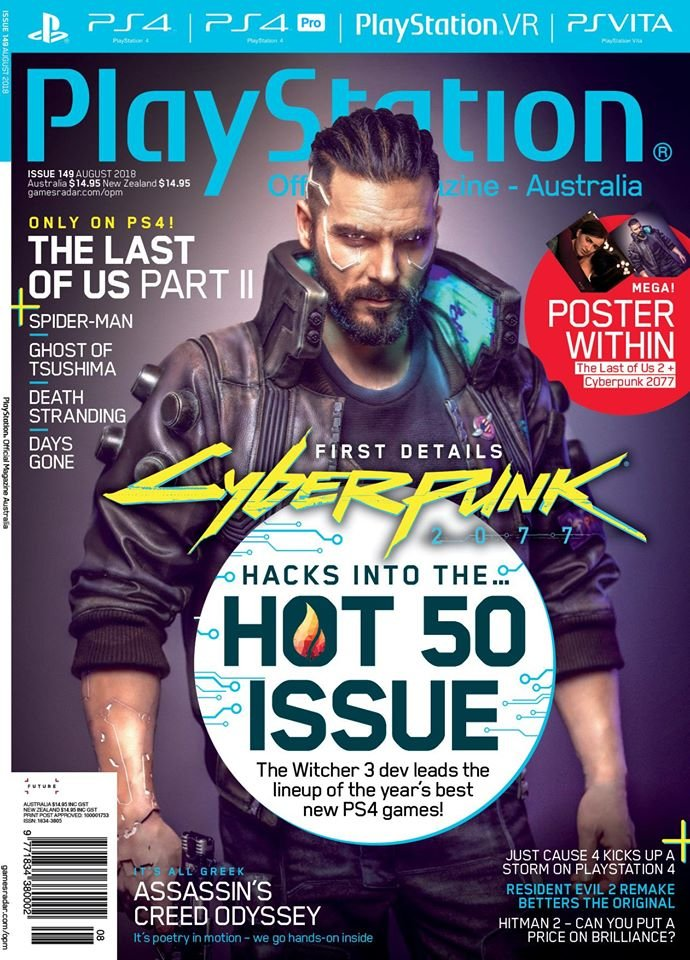 PlayStation Official Magazine Issue 149 (August 2018)