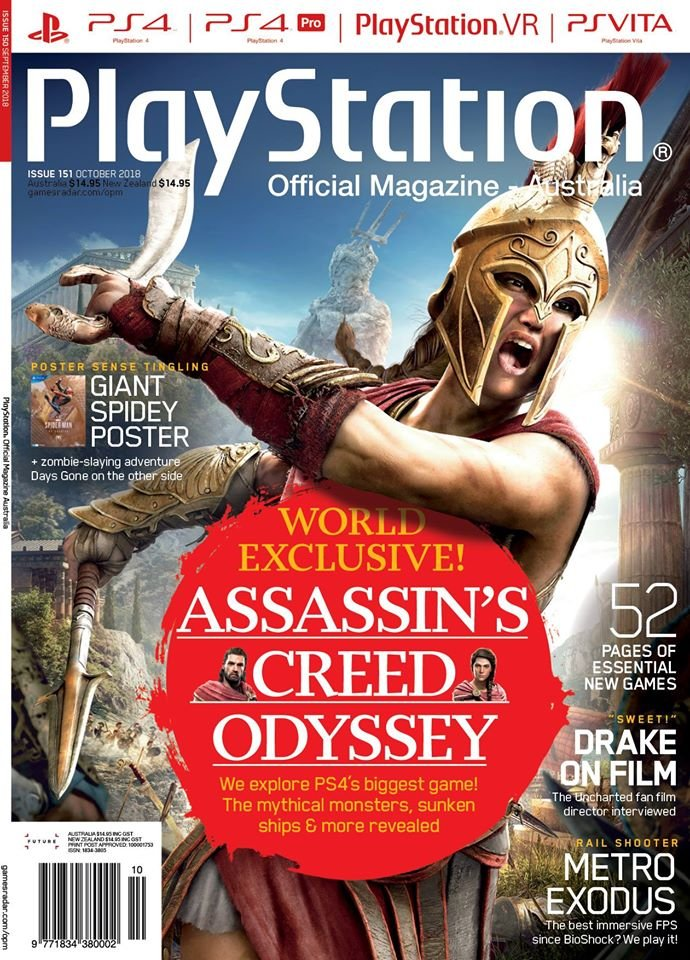 PlayStation Official Magazine Issue 151 (October 2018)