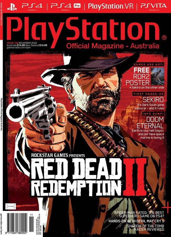 PlayStation Official Magazine Issue 152 (November 2018)