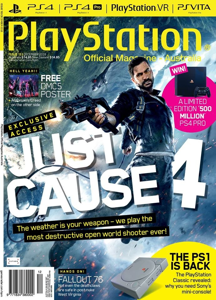 PlayStation Official Magazine Issue 153 (December 2018)