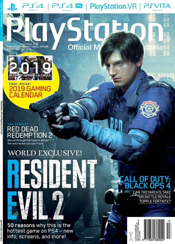 PlayStation Official Magazine Issue 154 (Xmas 2018)