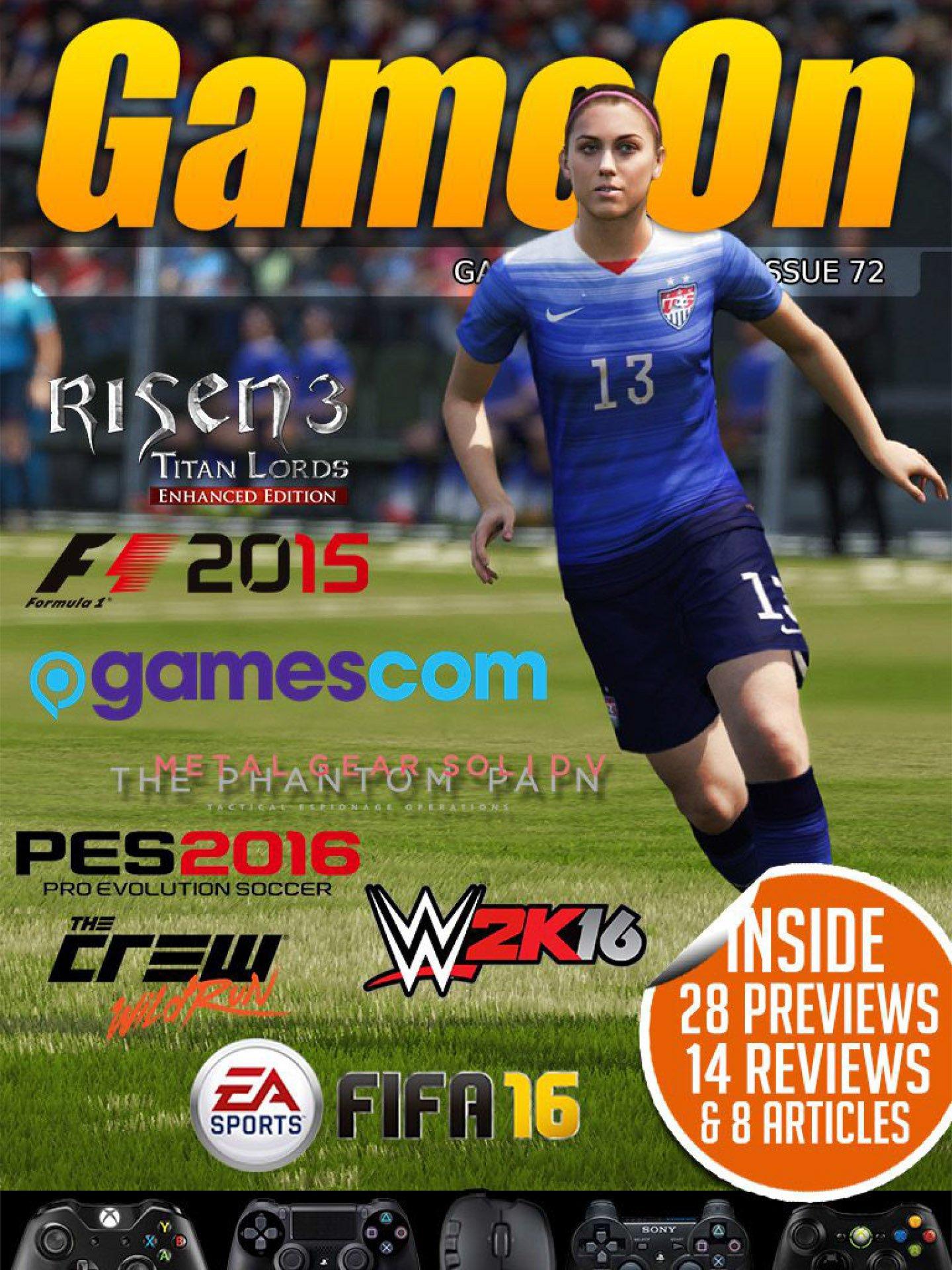 GameOn 072 (October 2015)
