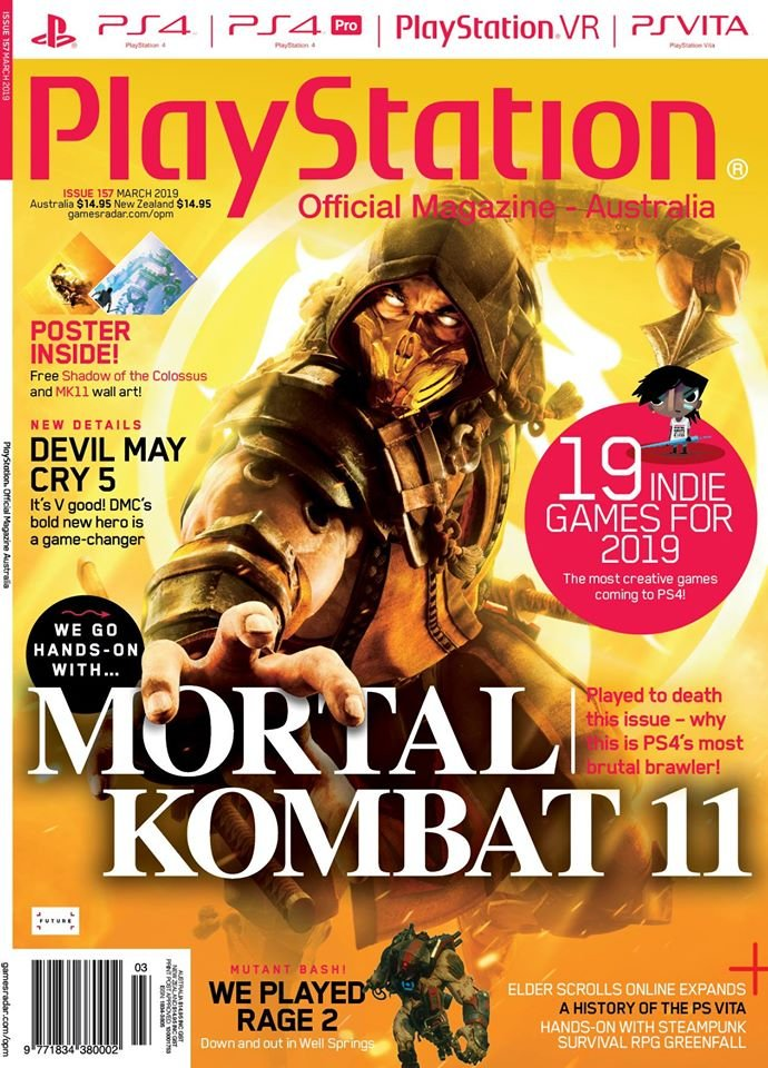 PlayStation Official Magazine Issue 157 (March 2019)