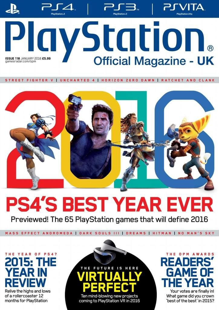 Playstation Official Magazine UK 118 (January 2016)