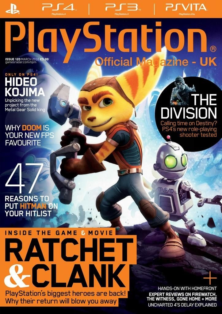 Playstation Official Magazine UK 120 (March 2016)