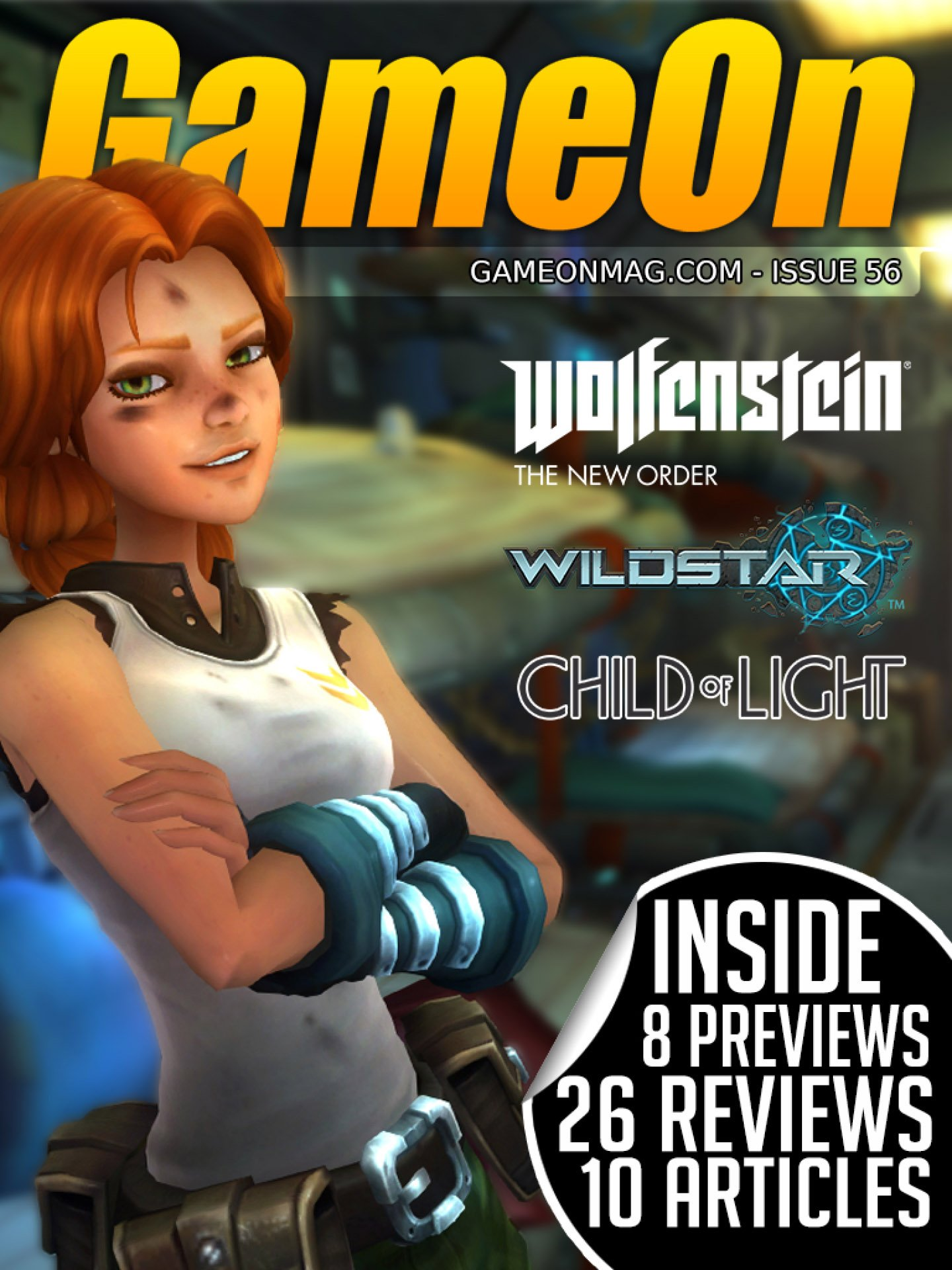 GameOn 056 (June 2014)