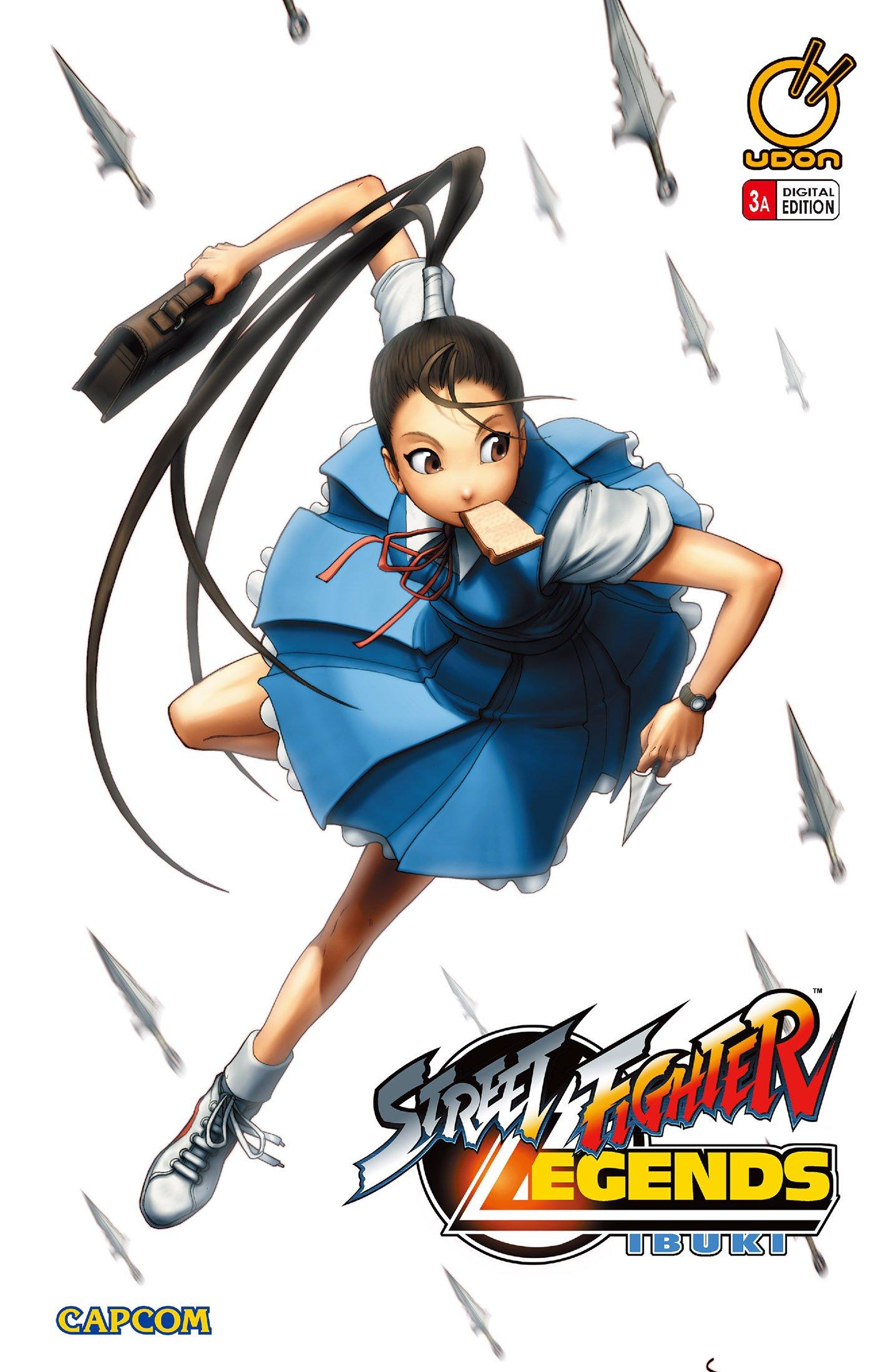 Street Fighter Legends: Ibuki 003 (June 2010) (cover a)