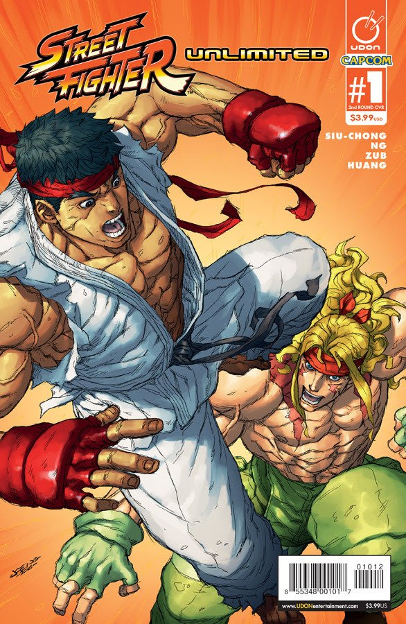 Street Fighter Unlimited 001 (December 2015) (2nd printing cover)