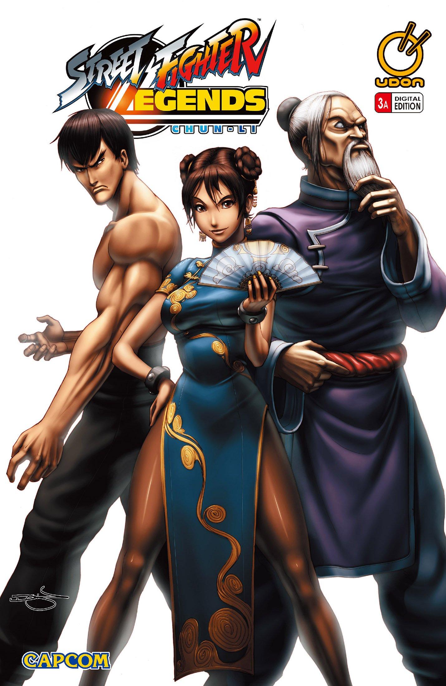 Street Fighter Legends: Chun-Li 003 (June 2009) (cover a)