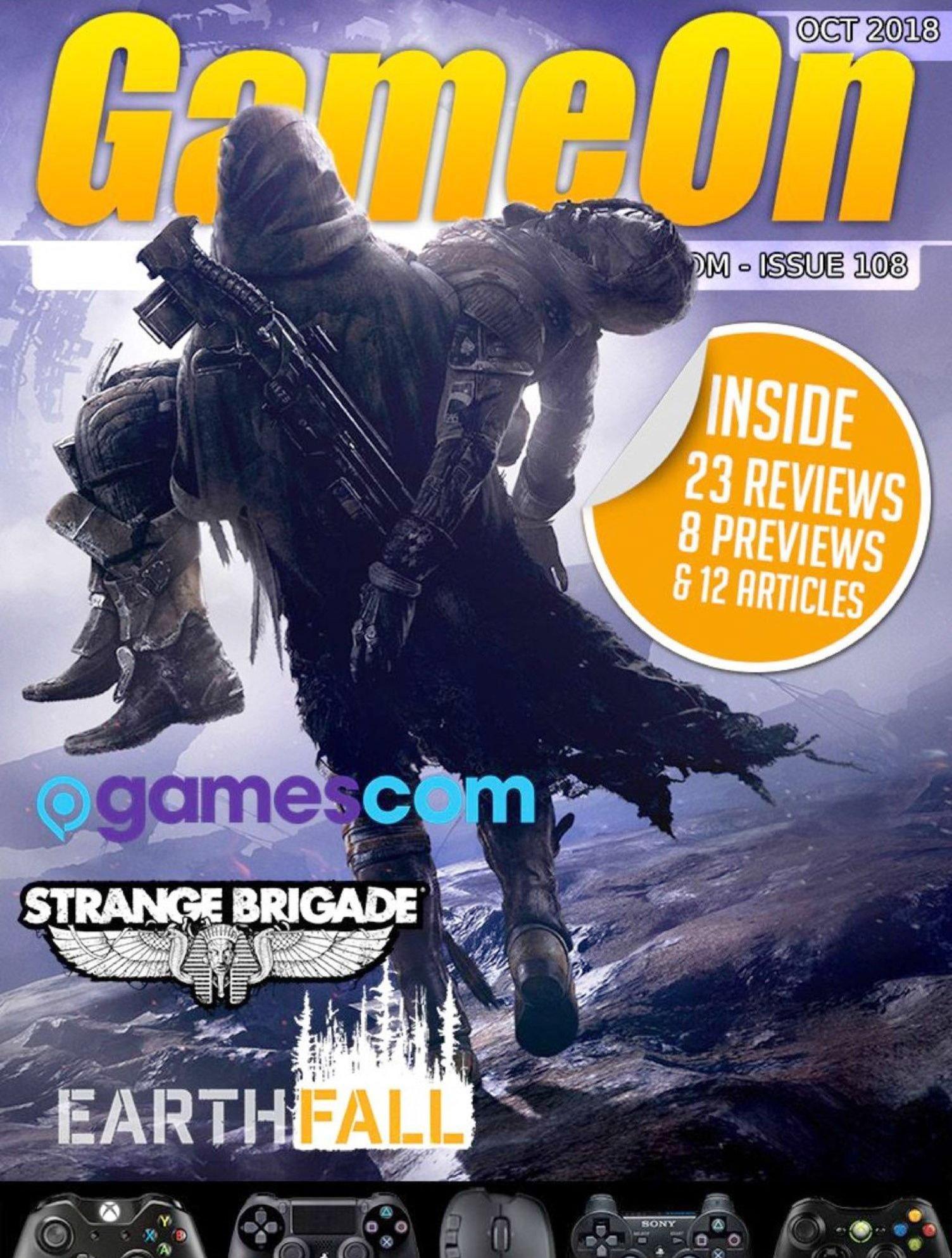 GameOn 108 (October 2018)