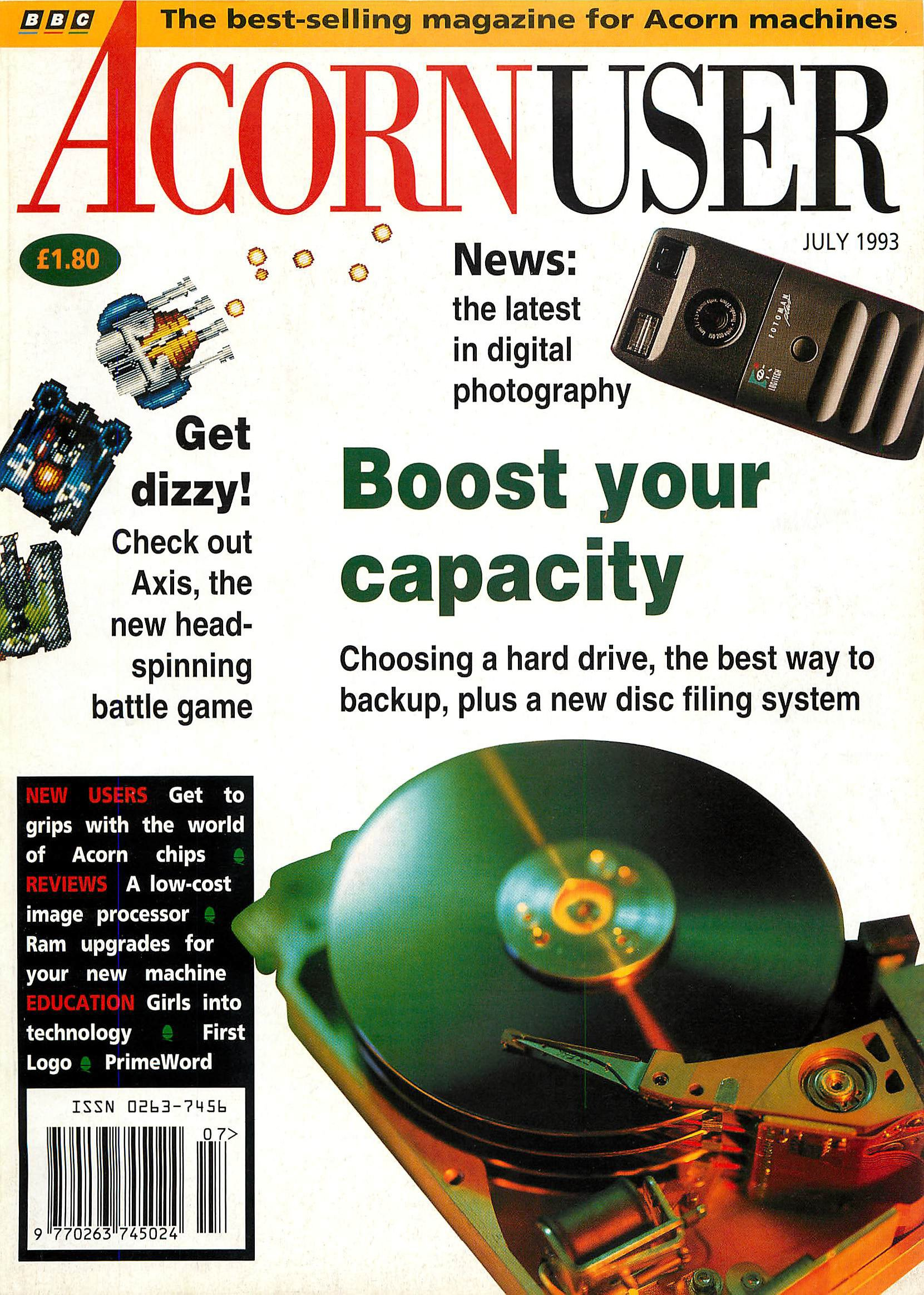 Acorn User 132 (July 1993)
