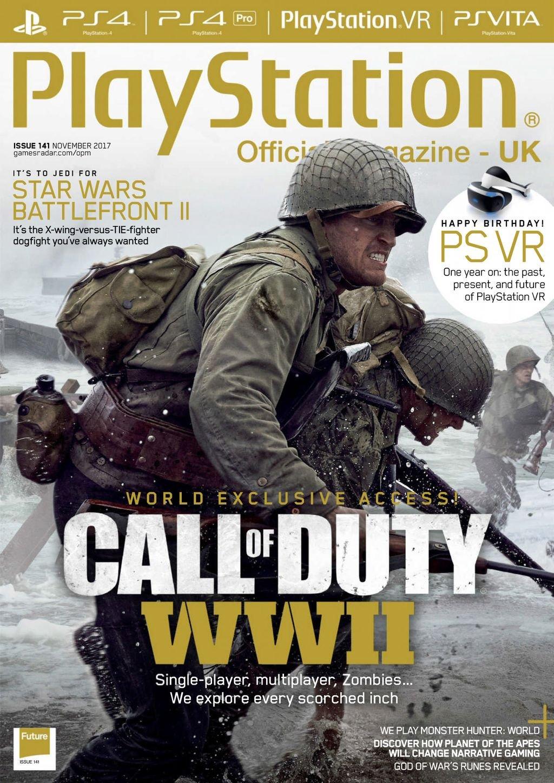 Playstation Official Magazine UK 141 (November 2017)