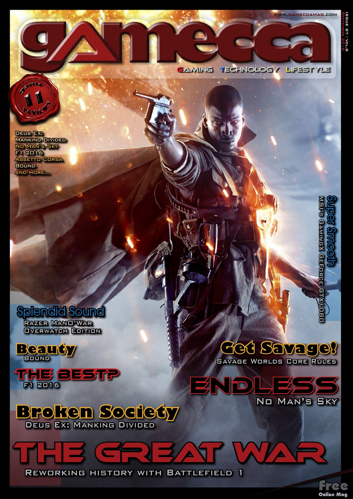 Gamecca 087 (September 2016)