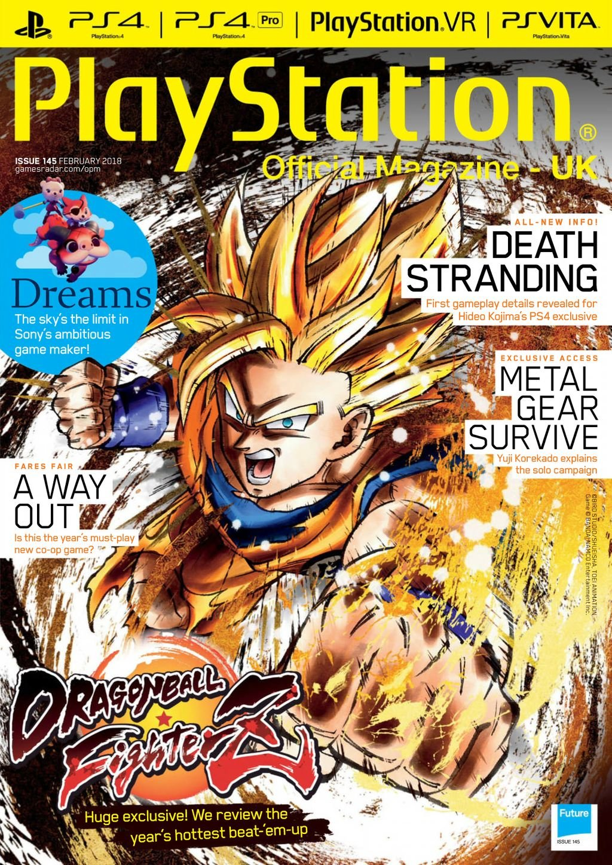 Playstation Official Magazine UK 145 (February 2018)