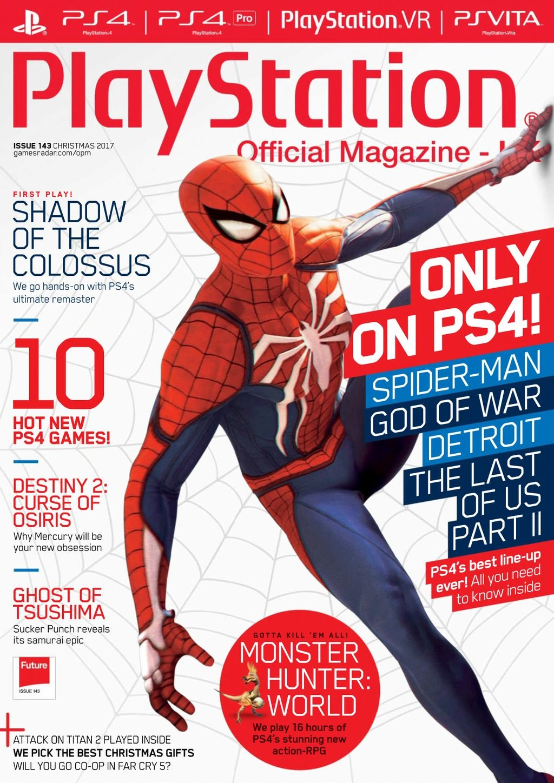 Playstation Official Magazine UK 143 (Xmas 2017)