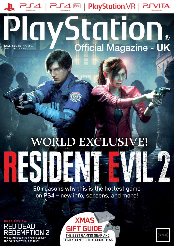 Playstation Official Magazine UK 156 (Xmas 2018)