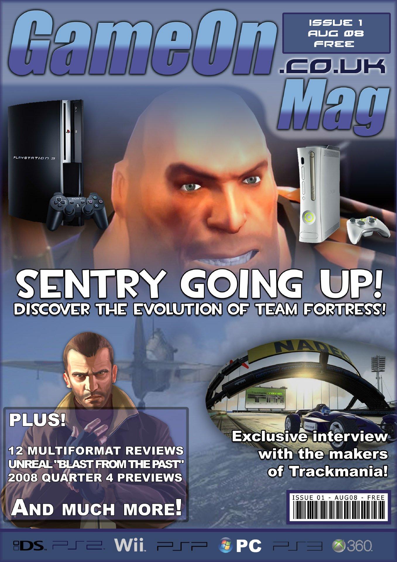 GameOn 001 (August 2008)