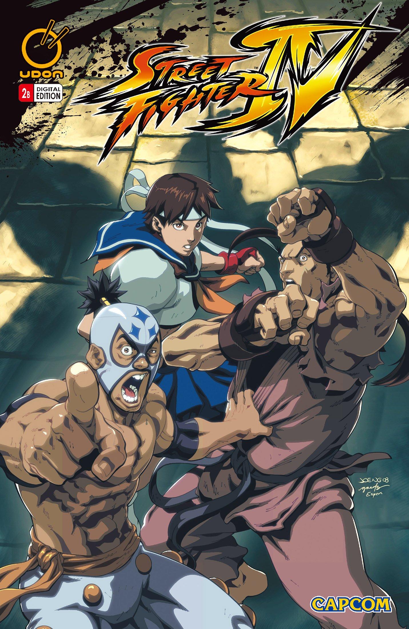 Street Fighter IV 002 (April 2009) (cover b)