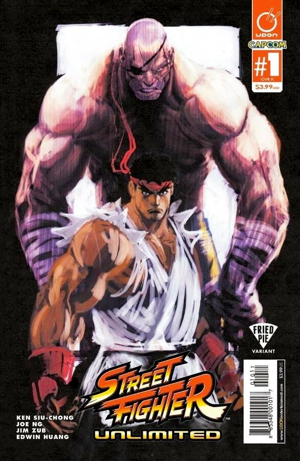 Street Fighter Unlimited 001 (December 2015) (Fried Pie variant)