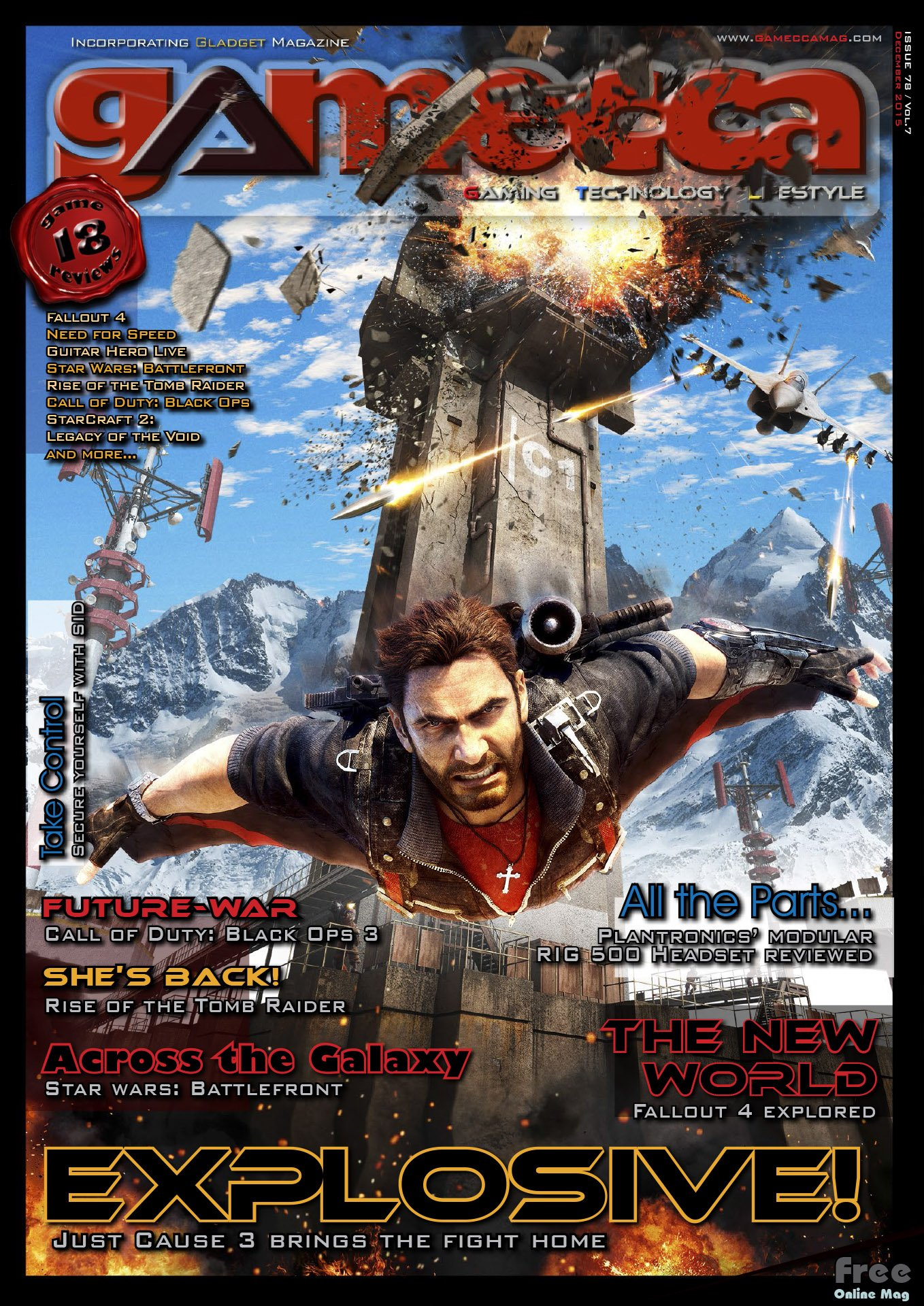 Gamecca 078 (December 2015)