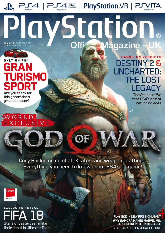 Playstation Official Magazine UK 140 (October 2017)