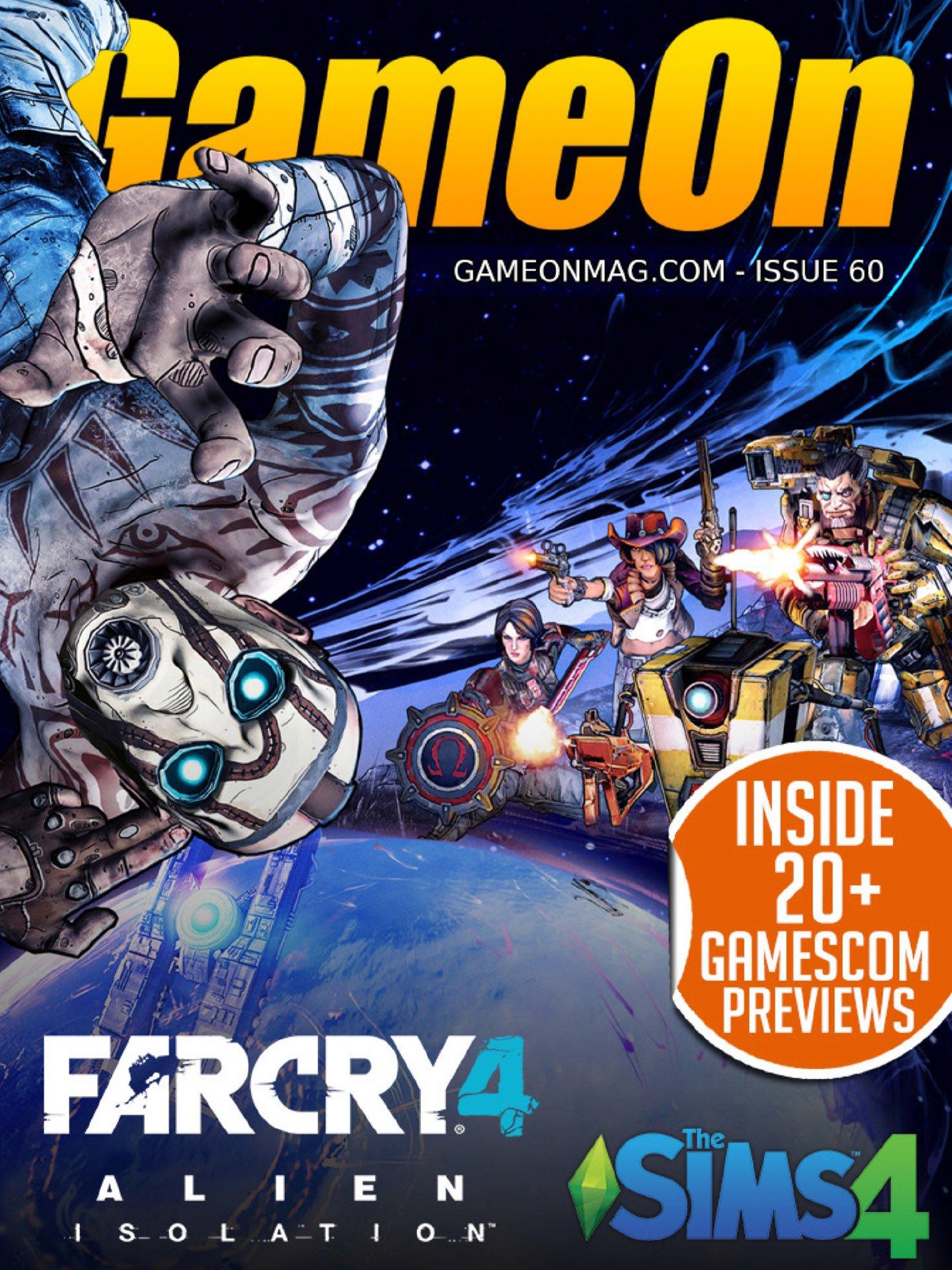 GameOn 060 (October 2014)