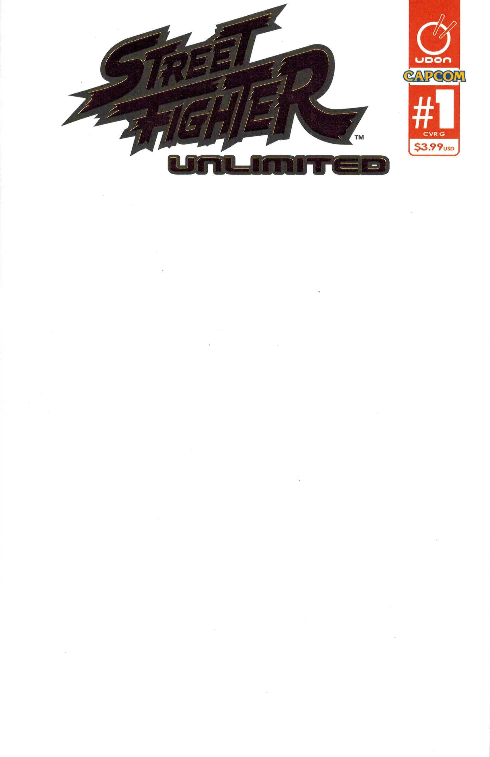 Street Fighter Unlimited 001 (December 2015) (cover G foil variant)