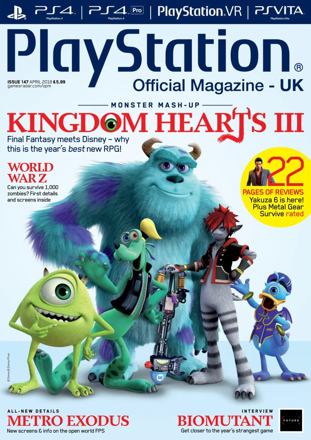 Playstation Official Magazine UK 147 (April 2018)