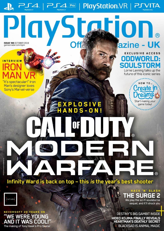 Playstation Official Magazine UK 166 (October 2019)
