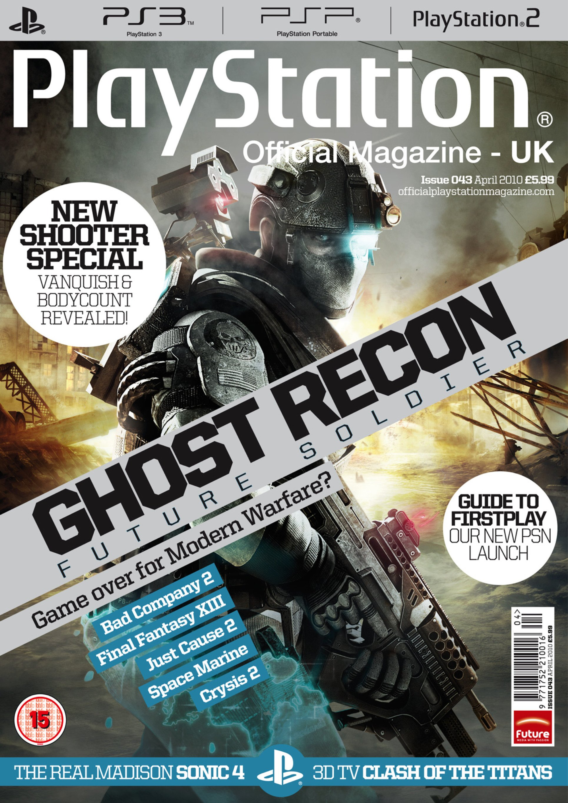 Playstation Official Magazine UK 043 (April 2010)