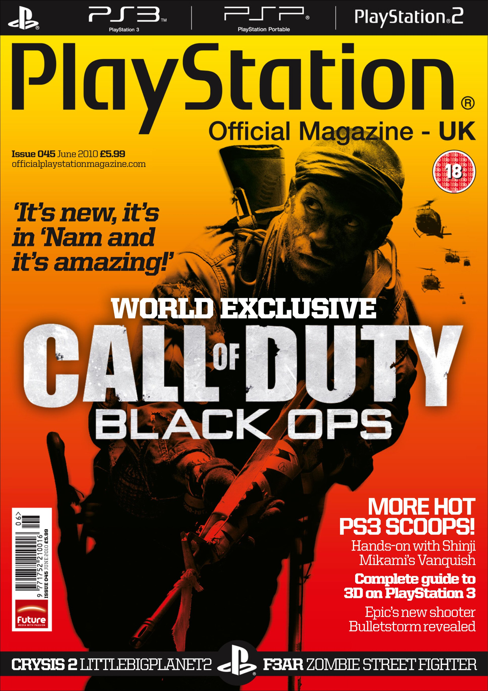 Playstation Official Magazine UK 045 (June 2010)