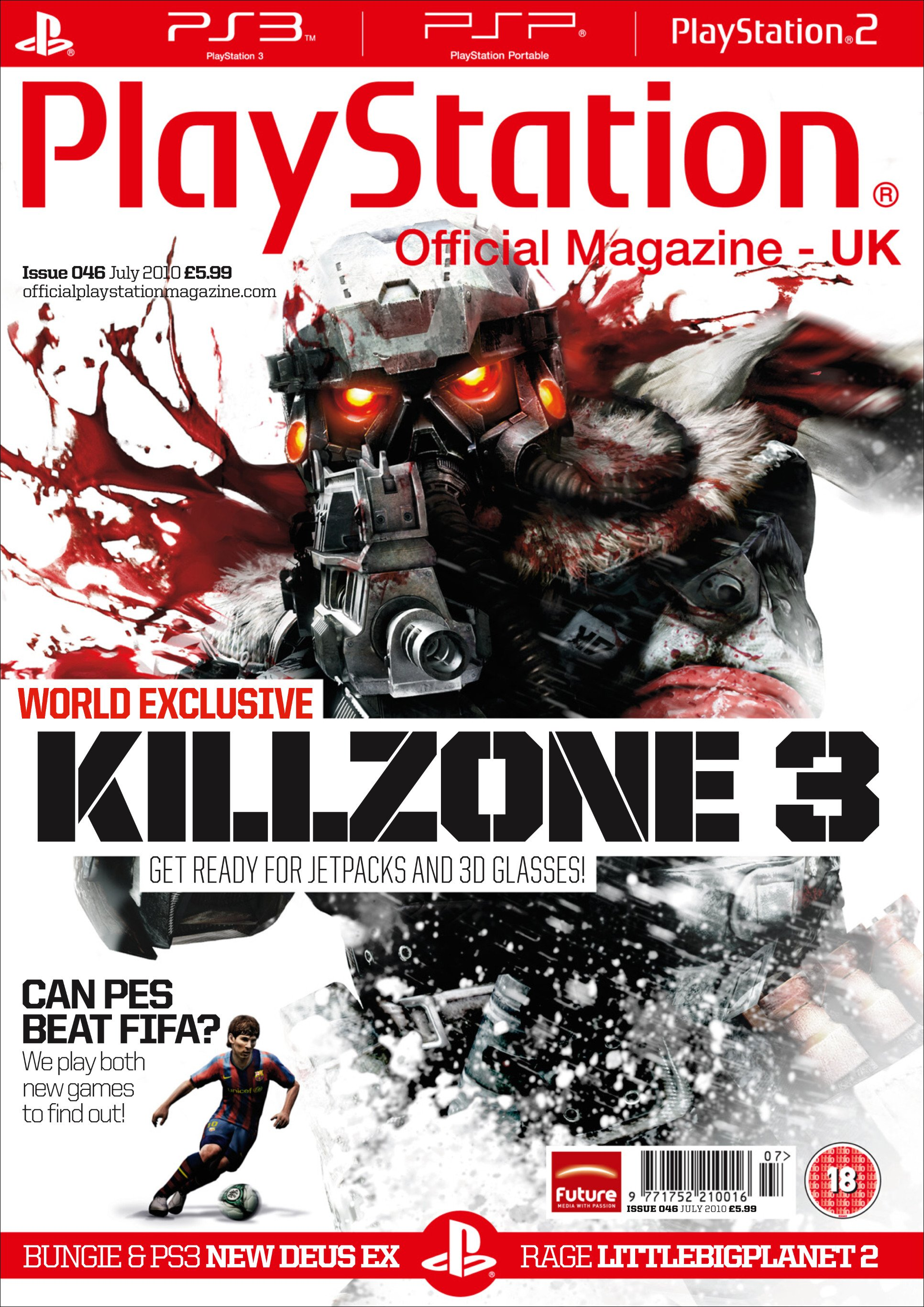 Playstation Official Magazine UK 046 (July 2010)
