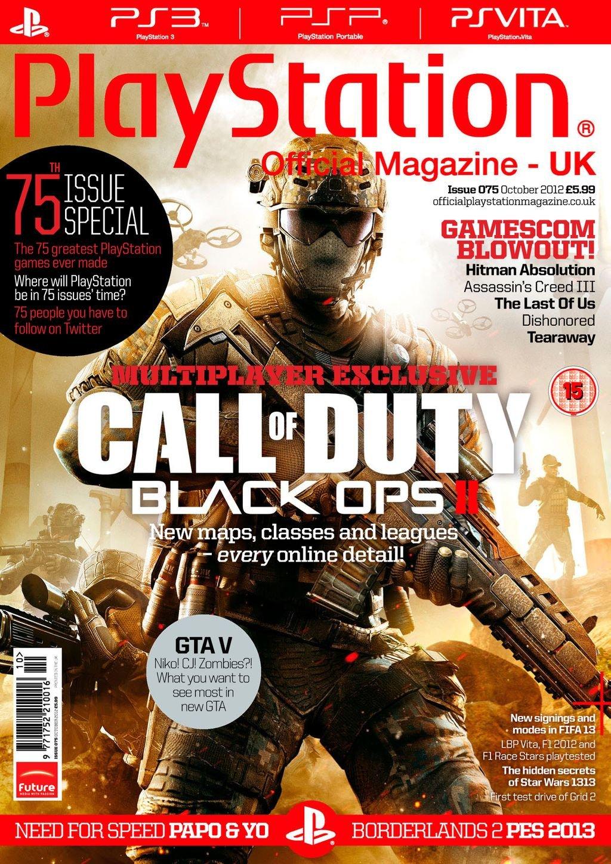 Playstation Official Magazine UK 075 (October 2012)