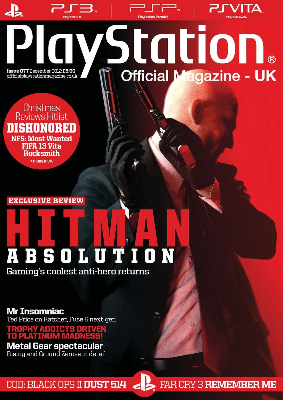 Playstation Official Magazine UK 077 (December 2012)