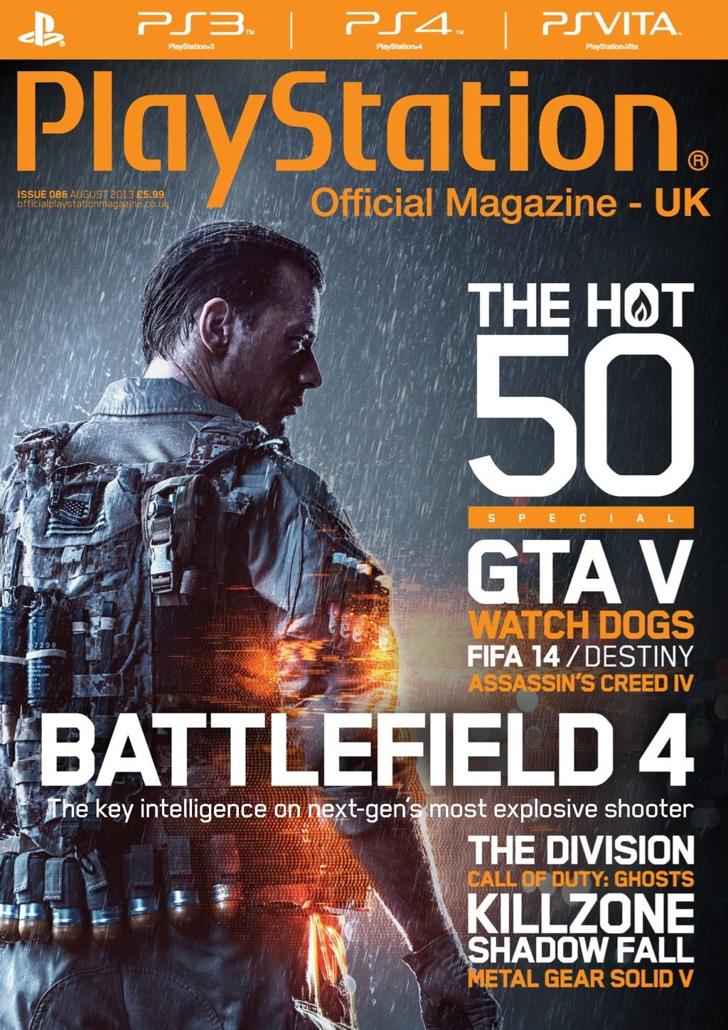 Playstation Official Magazine UK 086 (August 2013)