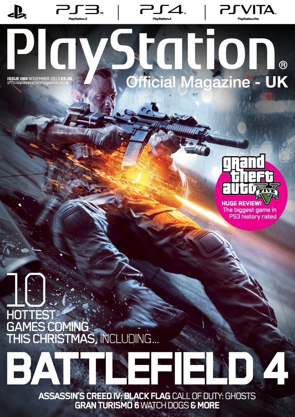 Playstation Official Magazine UK 089 (November 2013)