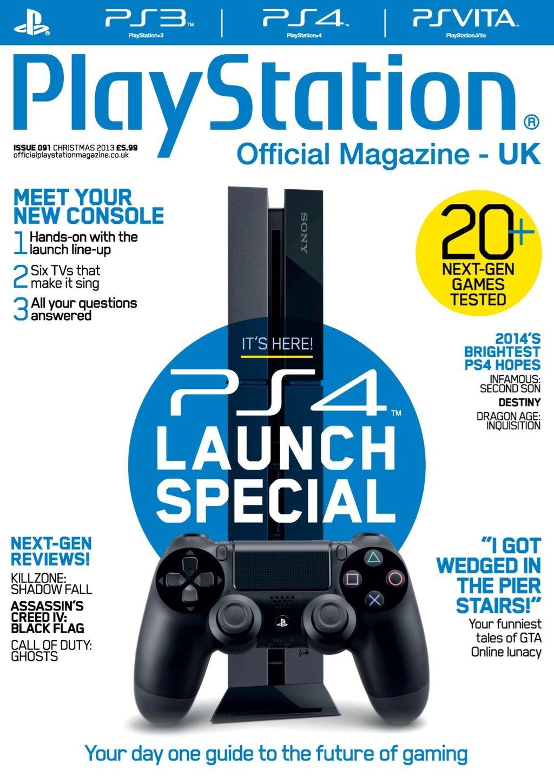 Playstation Official Magazine UK 091 (Xmas 2013)
