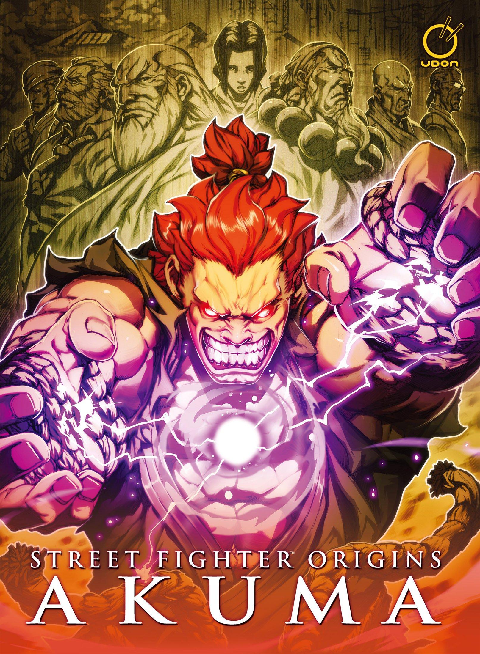Street Fighter Origins - Akuma