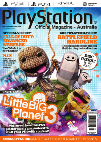 PlayStation Official Magazine Issue 102 (Xmas 2014)