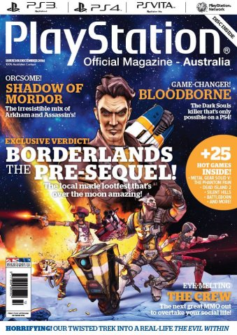 PlayStation Official Magazine Issue 101 (December 2014)