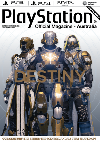 PlayStation Official Magazine Issue 100 (November 2014)