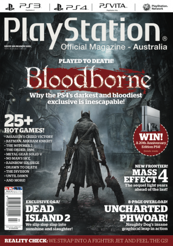 PlayStation Official Magazine Issue 105 (March 2015)