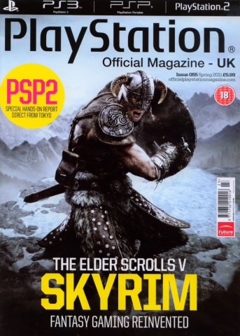 Playstation Official Magazine UK 055 (March 2011)