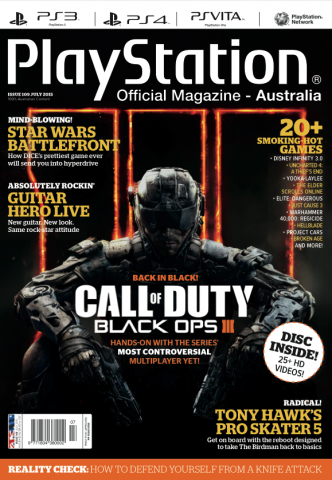 PlayStation Official Magazine Issue 109 (July 2015)