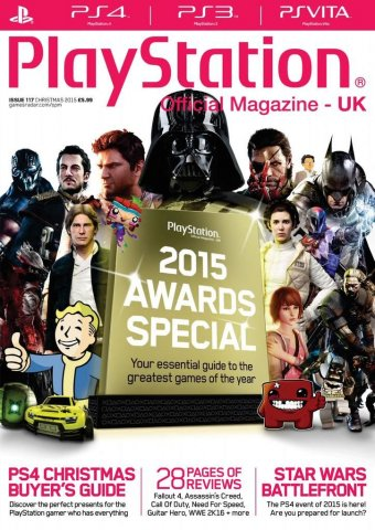 Playstation Official Magazine UK 117 (Xmas 2015)