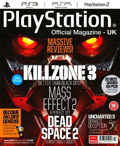 Playstation Official Magazine UK 054 (February 2011) *cover 2*