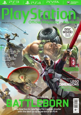 PlayStation Official Magazine Issue 110 (August 2015)