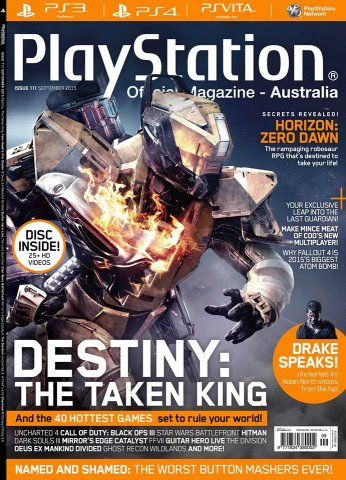 PlayStation Official Magazine Issue 111 (September 2015)